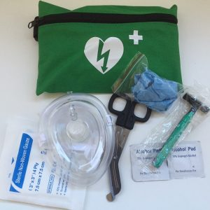 First Aid Ready Kit Open