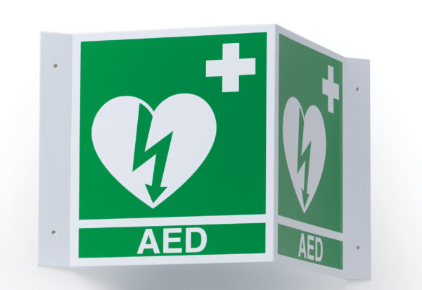 Zoll AED Defibrillator 3D_AED_Sign
